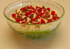 Zippy Lime Mist Gelatin Salad