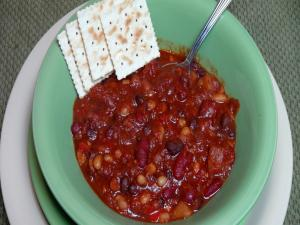 Chipotle Three Bean Chili - Vegan
