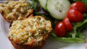 Broccoli Casserole Muffins