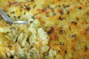 Meat and Vegetable Pasta Bake