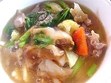 Thai Noodles In Gravy Recipe