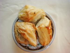 Homemade Puff Pastry Snack