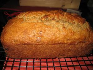 Apple And Walnut Tea Bread
