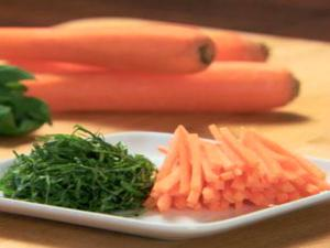 How to Julienne Vegetables