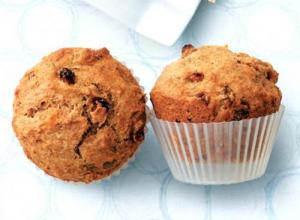 Raisin Bran Wheat Muffins