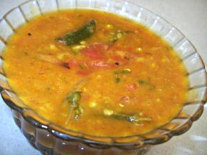 Plain Tadka Dal (Tempered Lentil Curry)