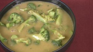 Broccoli and Chickpea Soup