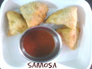 Aloo Stuffed Samosa