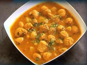 Soya Aloo Curry