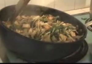 Vegetarian Cooking - Tofu Stir Fry, Rice, and Lassi
