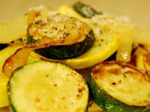 Lemon and Cilantro Sauteed Zucchini and Summer Squash