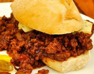 Pork Sloppy Joes