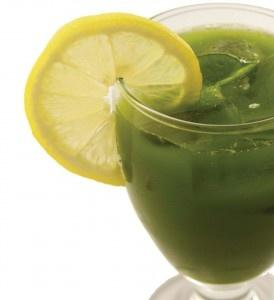 Healthy Lemonade with Kale