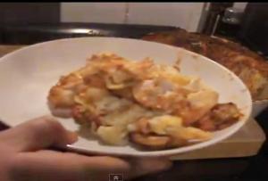 Chicken Mushroom Pasta Shell Casserole