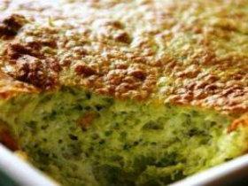 Broccoli Camembert Souffle