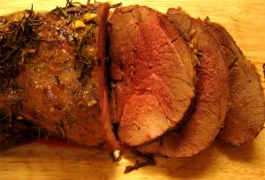 Marinated Leg Of Lamb