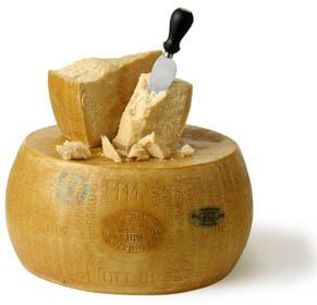 Parmesan is anglicized version of Parmigiano –Reggiano which has Italian origin.