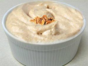 Iced Maple Syrup Mousse