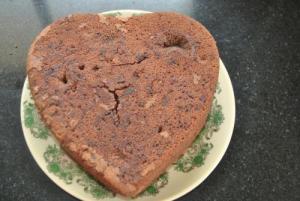 Black Walnut-Sour Cream Cake