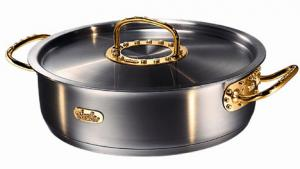 $250,000 saucepan and and $500,000 cutlery set