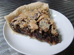 Chocolate Chip Nut Pie