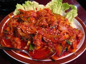 Spicy boneless chicken recipe