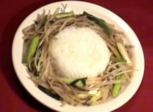 Thai Stir Fried Bean Sprouts