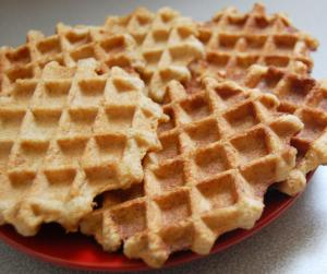 Quick Mix Waffles
