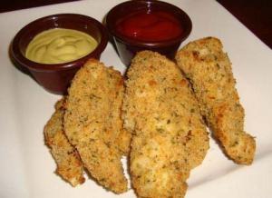 Crispy Parmesan Baked Chicken