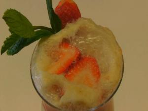 Betty's Strawberry Sherbet Fizz -- Mother's Day