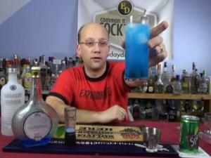 The Sonic Screwdriver Cocktail, How-to