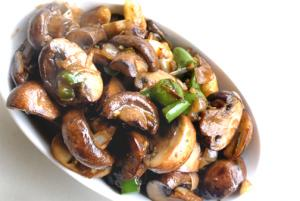 Mushrooms In Butter