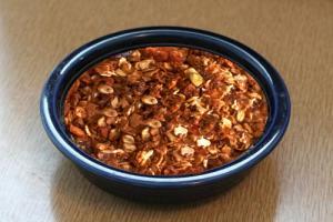Carob Nut Granola
