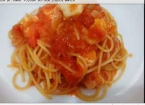 Tangy Shrimp Pasta
