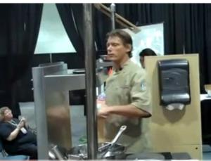 """Chef Whitney Debuts """"Liquid Caprese"""" At Western Food Expo 2010"""