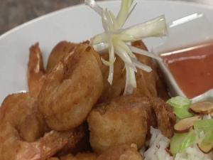 Karaage Shrimp with Thai Sweet Chili Sauce
