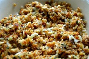 Almond Rice Stuffing