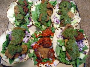Rocky Mountain Oysters Asian Taco Recipe Style