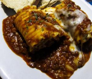 Sausage Lasagna Rollups