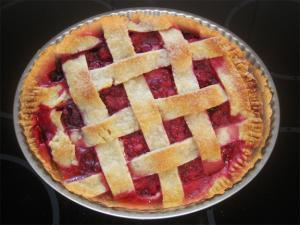 French Raspberry Pie