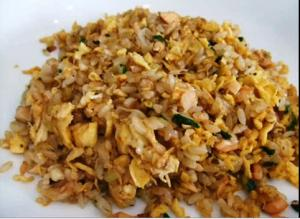 Salmon Egg Fried Rice