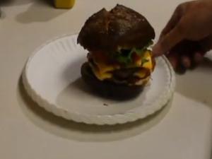 Wendy's New Bacon Cheeseburger - Clone