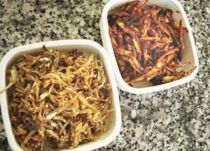 Stirfried dried anchovy side dishes (myulchi bokkeum)