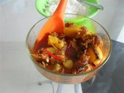 Hot & Spicy Smoked Fish Stew