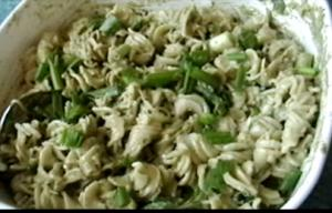 How to Make Pasta with Fresh Herbal Pesto