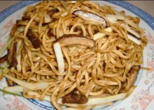 Yie Mien ( E-fu noodles, Longevity noodles )