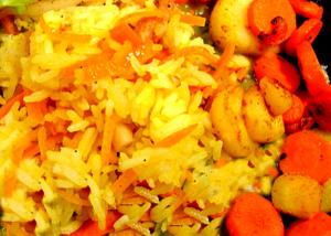 Valencia Rice & Carrots