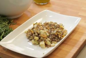 Kohlrabi Wild Rice Salad