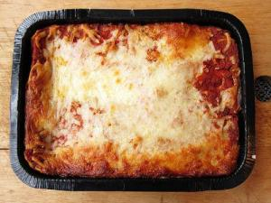 Microwave Zucchini Lasagna