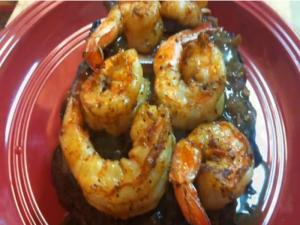Bourbon Street Steak & Blackened Shrimp
